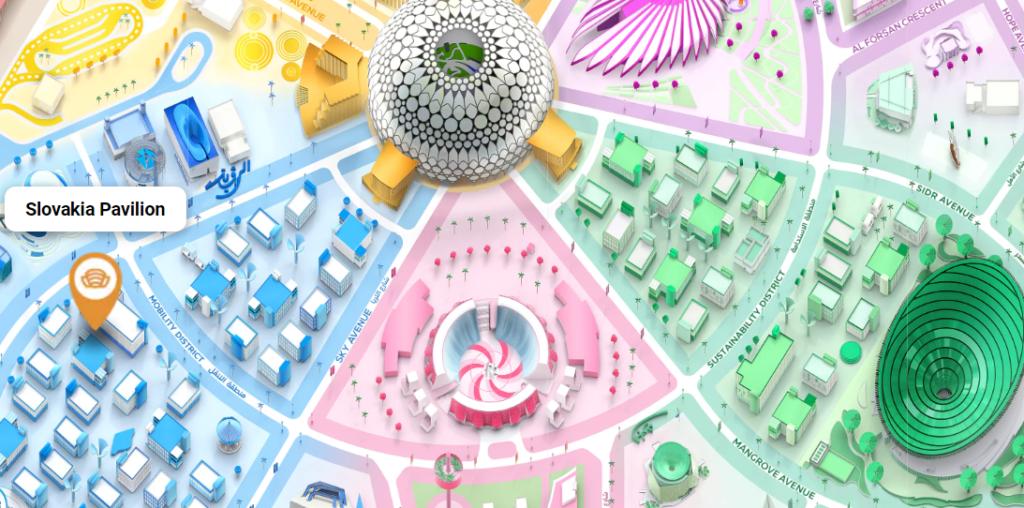 Slovak Pavilion at EXPO Dubai 2020